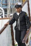 Μεξικάνικη γυναίκα Cuauhtémoc ναυτικών Στοκ Φωτογραφία