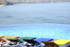 μεξικάνικη ειρηνική όψη παραλιών Στοκ Φωτογραφίες