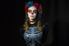 Μεξικάνικη καραμέλα scull Στοκ φωτογραφίες με δικαίωμα ελεύθερης χρήσης