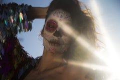 Μεξικάνικη καραμέλα scull Στοκ Εικόνες