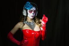 Μεξικάνικη καραμέλα scull Στοκ εικόνα με δικαίωμα ελεύθερης χρήσης