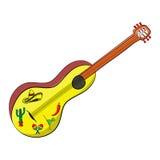 Μεξικάνικη κιθάρα cinco de mayo Στοκ Φωτογραφία