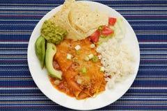 Μεξικάνικη κουζίνα Zesty στοκ εικόνες με δικαίωμα ελεύθερης χρήσης