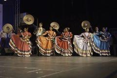 Μεξικάνικη λαϊκή ομάδα Στοκ Φωτογραφίες