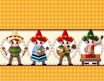 μεξικάνικη μουσική κινούμ& Στοκ φωτογραφία με δικαίωμα ελεύθερης χρήσης