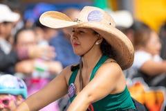 Μεξικάνικη παρέλαση ανεξαρτησίας στοκ εικόνες