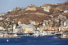 Μεξικάνικη παραθεριστική πόλη Riviera Στοκ Εικόνες