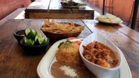 Μεξικάνικη πιατέλα γεύματος Στοκ Εικόνες