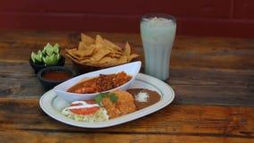 Μεξικάνικη πιατέλα γεύματος Στοκ φωτογραφίες με δικαίωμα ελεύθερης χρήσης