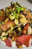 μεξικάνικη σαλάτα Στοκ Εικόνες