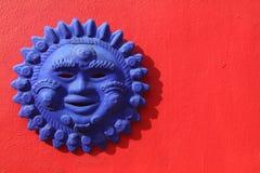 Μεξικάνικη τέχνη ήλιων Στοκ φωτογραφία με δικαίωμα ελεύθερης χρήσης