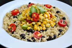 Μεξικάνικη Quinoa σαλάτα Στοκ Φωτογραφία