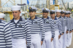 Μεξικάνικοι ναυτικοί Cuauhtémoc Στοκ φωτογραφία με δικαίωμα ελεύθερης χρήσης