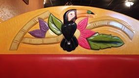 Μεξικάνικος θάλαμος εστιατορίων Στοκ φωτογραφία με δικαίωμα ελεύθερης χρήσης