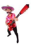 Μεξικάνικος κιθαρίστας Στοκ φωτογραφία με δικαίωμα ελεύθερης χρήσης