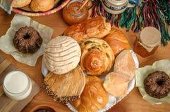 Μεξικάνικο γλυκό ψωμί Στοκ φωτογραφίες με δικαίωμα ελεύθερης χρήσης