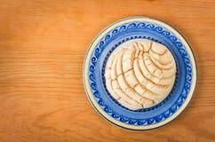 Μεξικάνικο γλυκό ψωμί Concha Στοκ φωτογραφίες με δικαίωμα ελεύθερης χρήσης