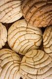 Μεξικάνικο γλυκό ψωμί Conchas Στοκ Εικόνα
