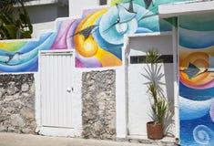 Μεξικάνικο εξωτερικό Στοκ εικόνα με δικαίωμα ελεύθερης χρήσης