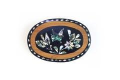 Μεξικάνικο κιβώτιο κοσμήματος τεχνών μικρό Στοκ εικόνες με δικαίωμα ελεύθερης χρήσης