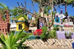 Μεξικάνικο νεκροταφείο Στοκ εικόνες με δικαίωμα ελεύθερης χρήσης