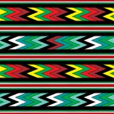 μεξικάνικο πρότυπο άνευ ραφής Στοκ εικόνα με δικαίωμα ελεύθερης χρήσης