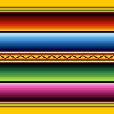 μεξικάνικο πρότυπο υφάσμα& Στοκ Εικόνες