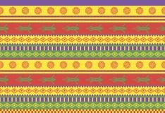μεξικάνικο πρότυπο Στοκ Εικόνα