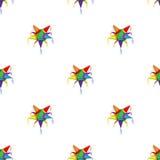 Μεξικάνικο σχέδιο pinata αστεριών Στοκ Εικόνες