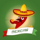Μεξικάνικο τσίλι ελεύθερη απεικόνιση δικαιώματος