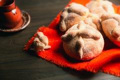 Μεξικάνικο ψωμί γνωστό όπως στοκ φωτογραφία