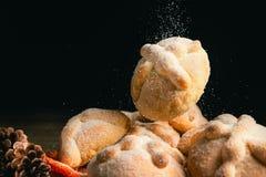 Μεξικάνικο ψωμί γνωστό όπως στοκ εικόνα