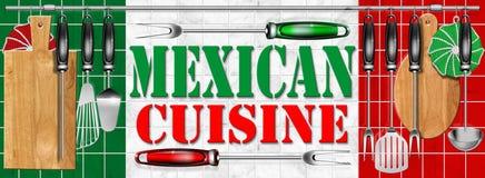 μεξικάνικο mexicana κουζίνας cocina Στοκ Φωτογραφία