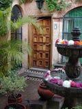 μεξικάνικο patio εισόδων Στοκ Εικόνα