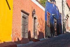 Μεξικάνικο Streetscene Στοκ φωτογραφία με δικαίωμα ελεύθερης χρήσης