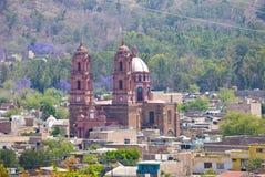 Μεξικό μικρού χωριού Στοκ φωτογραφία με δικαίωμα ελεύθερης χρήσης