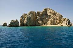 Μεξικό - Cabo SAN Lucas - βράχοι και παραλίες Στοκ φωτογραφία με δικαίωμα ελεύθερης χρήσης