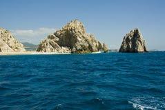 Μεξικό - Cabo SAN Lucas - βράχοι και παραλίες Στοκ Φωτογραφία