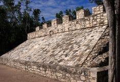 Μεξικό, Mayan δικαστήριο σφαιρών - Coba Στοκ φωτογραφίες με δικαίωμα ελεύθερης χρήσης