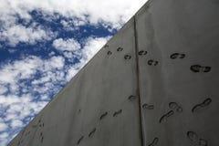 Μεξικό - Nogales - τα ΑΜΕΡΙΚΑΝΙΚΑ σύνορα Στοκ Φωτογραφία