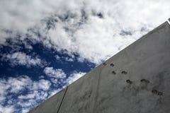 Μεξικό - Nogales - τα ΑΜΕΡΙΚΑΝΙΚΑ σύνορα Στοκ Εικόνες