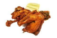 μερίδα κοτόπουλου Στοκ Εικόνες