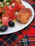 μερίδα τροφίμων Στοκ φωτογραφία με δικαίωμα ελεύθερης χρήσης