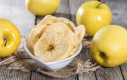 Μερίδα των ξηρών μήλων Στοκ Φωτογραφίες