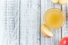 Μερίδα φρέσκο γίνοντα Applesauce (εκλεκτική εστίαση) Στοκ Φωτογραφίες