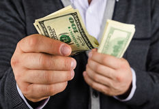 Μερικά από τα χρήματα Στοκ εικόνα με δικαίωμα ελεύθερης χρήσης