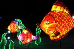 Κινεζικό φεστιβάλ φαναριών στοκ φωτογραφία με δικαίωμα ελεύθερης χρήσης