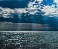 Μερικά σύννεφα στοκ φωτογραφία