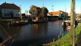 Μερικές βάρκες Στοκ Εικόνες