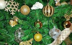 Μερικές διακοσμήσεις χριστουγεννιάτικων δέντρων Στοκ εικόνες με δικαίωμα ελεύθερης χρήσης